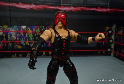 wwe elite 47b kane figure review - loose mask
