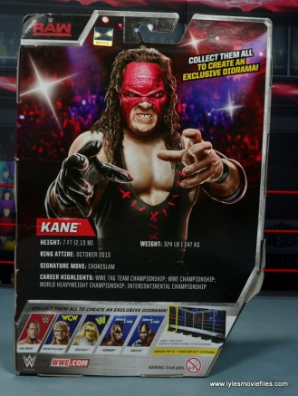 wwe elite 47b kane figure review -package rear