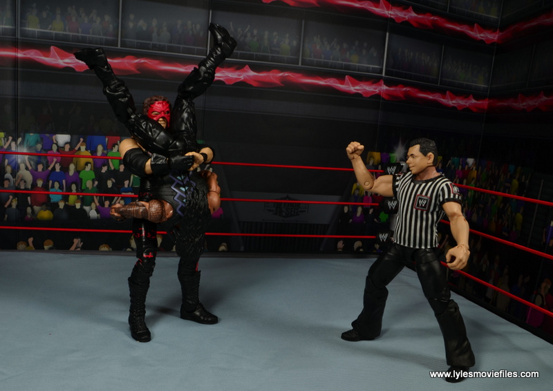 wwe elite 47b kane figure review - tombstone to roman reigns