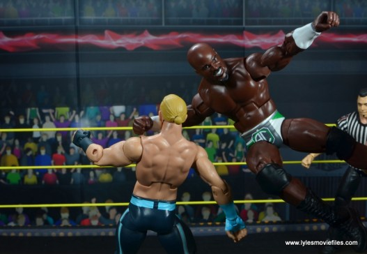 wwe elite 49 apollo crews figure review - flying clothesline