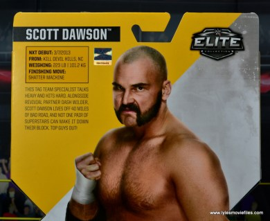 wwe elite the revival scott dawson and dash wilder figure review -dawson bio