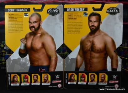 wwe elite the revival scott dawson and dash wilder figure review -package rear