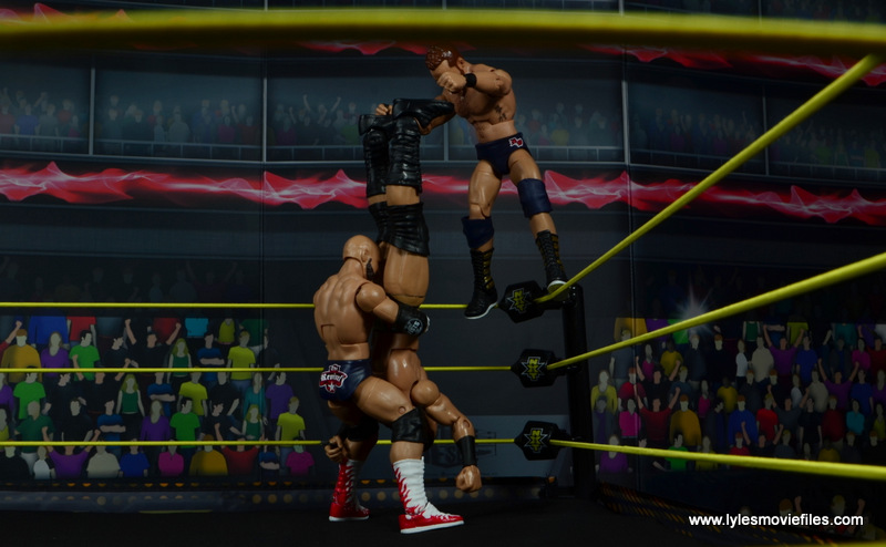 wwe elite the revival scott dawson and dash wilder figure review -spike piledriver