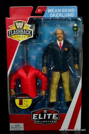 wwe flashback mean gene okerlund figure review - package front
