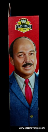 wwe flashback mean gene okerlund figure review - package right side