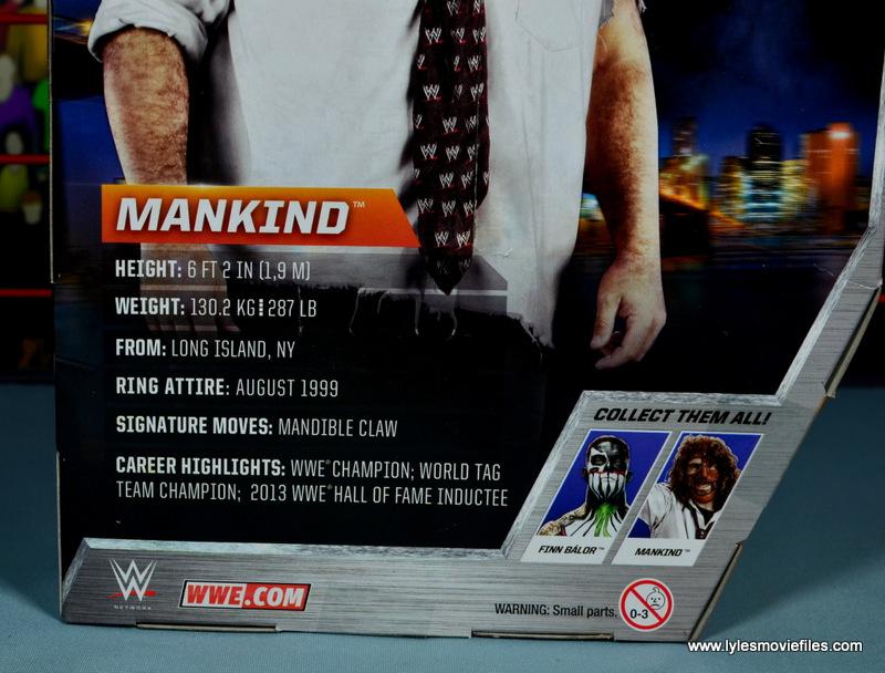 wwe summerslam elite mankind figure review - bio