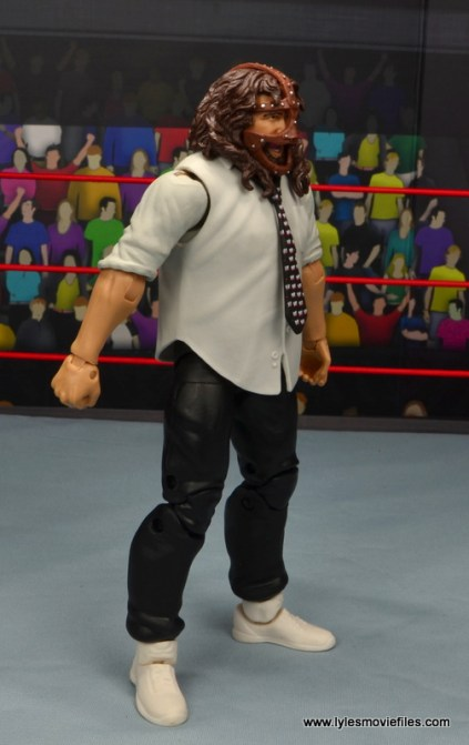wwe summerslam elite mankind figure review - right side
