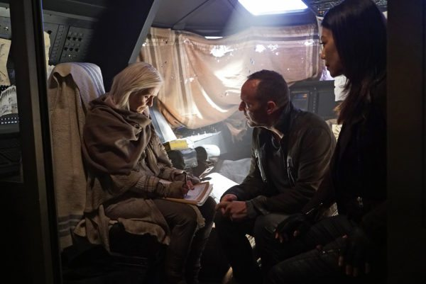 Agents of shield the last day Robin Coulson and may