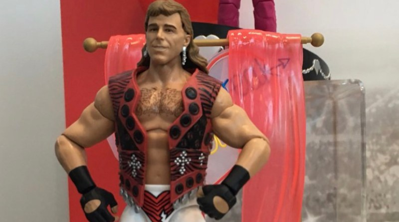wwe mattel build a figure heartbreak hotel set - shawn michaels