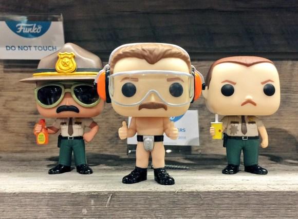 funko pop super troopers figures