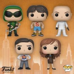 funko pop smallville figures