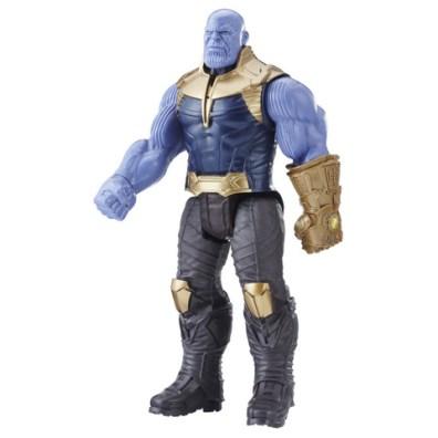 MARVEL AVENGERS INFINITY WAR TITAN HERO 12-INCH DELUXE Figures (Thanos) - oop