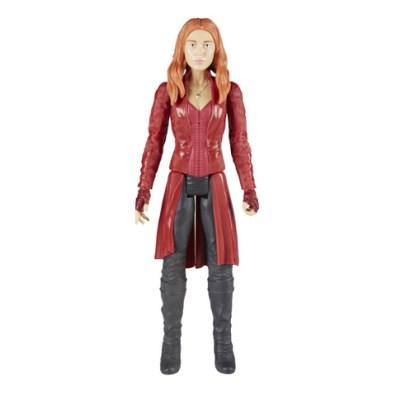 MARVEL AVENGERS INFINITY WAR TITAN HERO 12-INCH Figures (Scarlet Witch) - oop