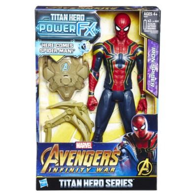 MARVEL AVENGERS INFINITY WAR TITAN HERO 12-INCH POWER FX Figures (Iron Spider) - in pkg