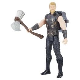 MARVEL AVENGERS INFINITY WAR TITAN HERO 12-INCH POWER FX Figures (Thor) - oop