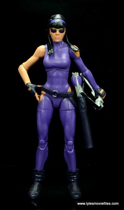 Marvel Legends Avengers Vision, Kate Bishop and Sam Wilson figure review - kate bishop front