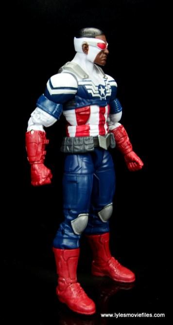 Marvel Legends Avengers Vision, Kate Bishop and Sam Wilson figure review - sam wilson right side