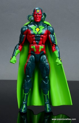 Marvel Legends Avengers Vision, Kate Bishop and Sam Wilson figure review - vision front