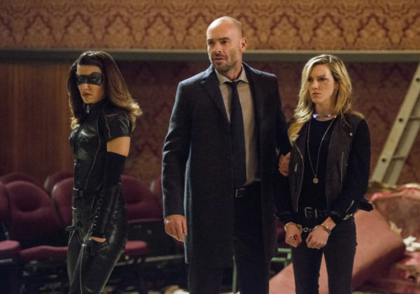 arrow the devil's greatest - black canary, quentin and black siren