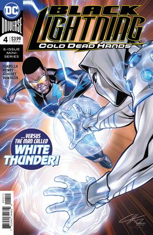 black lightning cold dead hands #4 cover