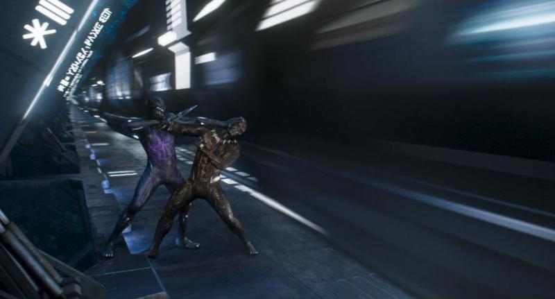 black panther movie review - black panther vs killmonger