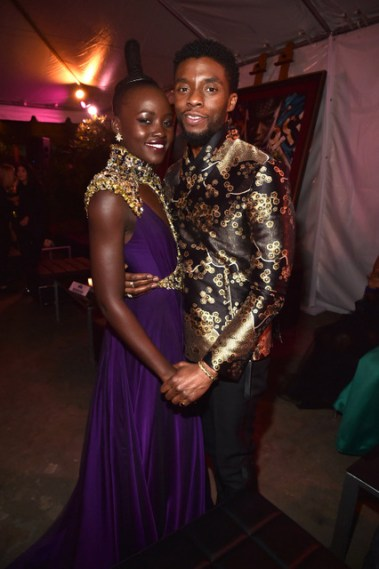 black-panther-world-premiere-lupita-nyongo-and-chadwick-boseman