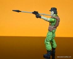 gi joe social clash lady jaye and baroness figure review set - lady jaye with javelin gun