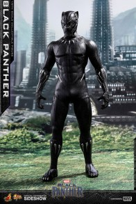 hot toys black panther figure - standing