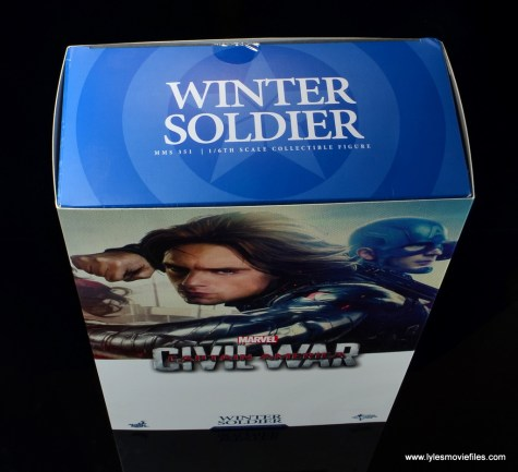 hot toys the winter soldier civil war figure review - package top