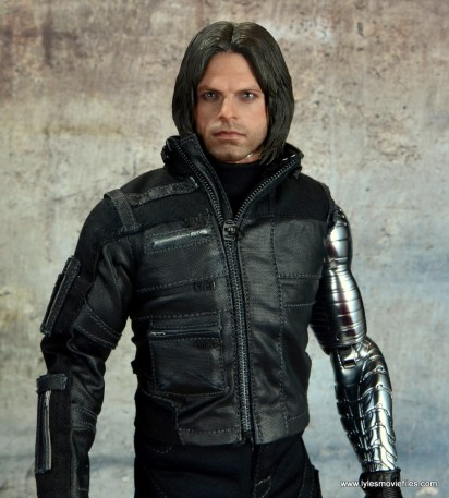 hot toys the winter soldier civil war figure review - portrait shot