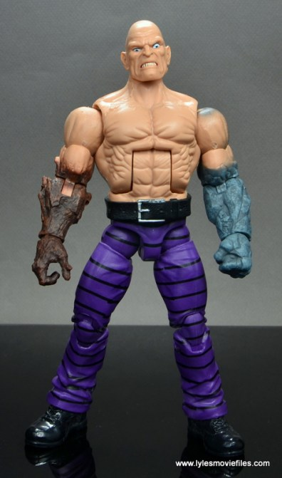 marvel legends absorbing man figure review -front
