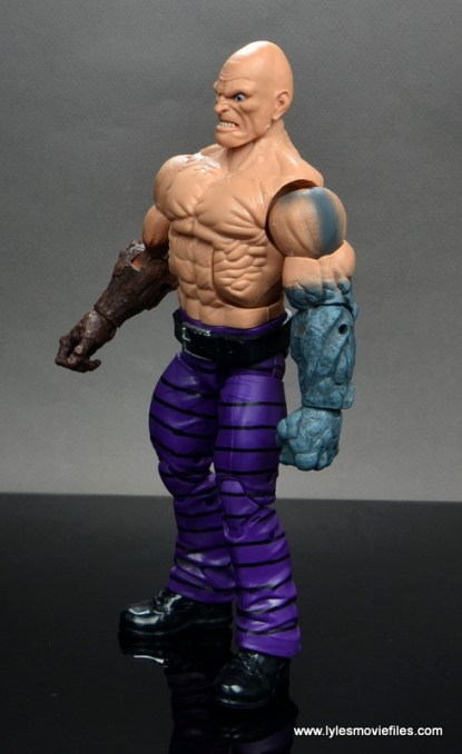 marvel legends absorbing man figure review -left side
