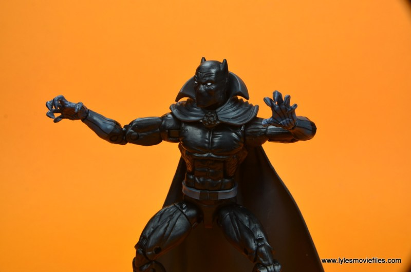 marvel legends black panther figure review - ready to pounce