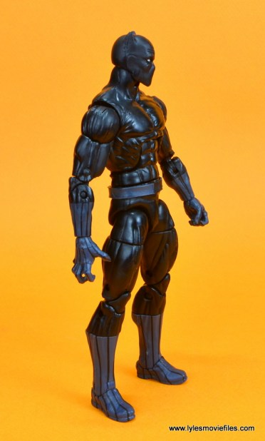 marvel legends black panther figure review - right side