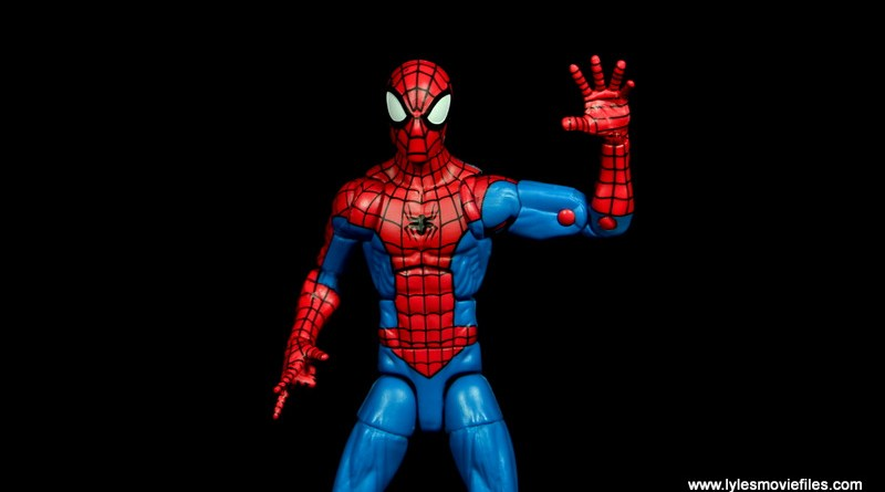 marvel legends retro spider-man figure review -main pic