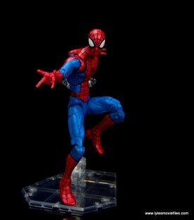 marvel legends retro spider-man figure review -ready for battle