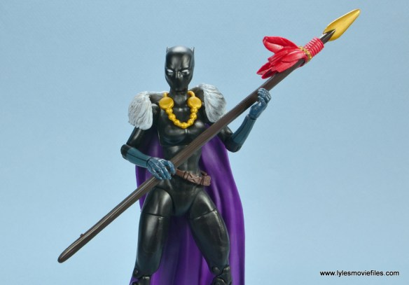marvel legends shuri and klaw figure review -main shuri pic