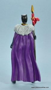 marvel legends shuri and klaw figure review -shuri cape rear