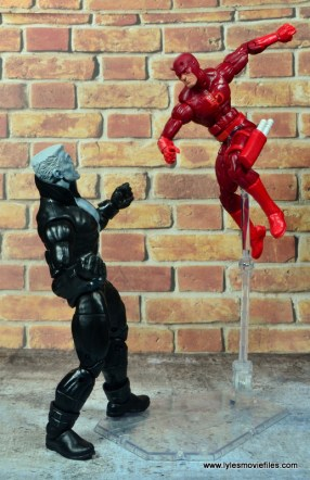 marvel legends tombstone figure review -here comes dardevil