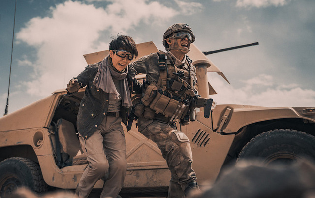 operation red sea movie review Yi Zhang, Hai-Qing