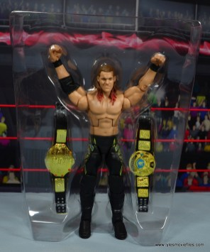wwe defining moments chris jericho figure review - accessories in tray