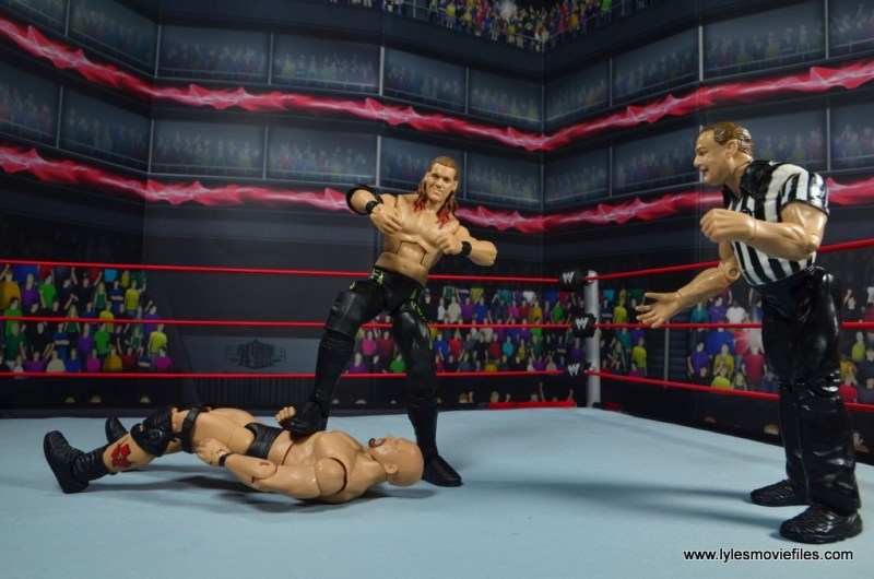 wwe defining moments chris jericho figure review - c'mon baby pose on stone cold