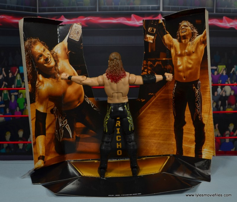 wwe defining moments chris jericho figure review - standing on base