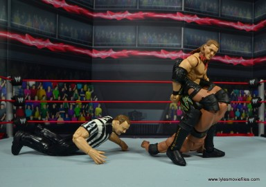 wwe defining moments chris jericho figure review - walls of jericho to the rock