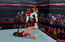 wwe elite 54 the usos jimmy and jey usos figure review - about to double splash kofi