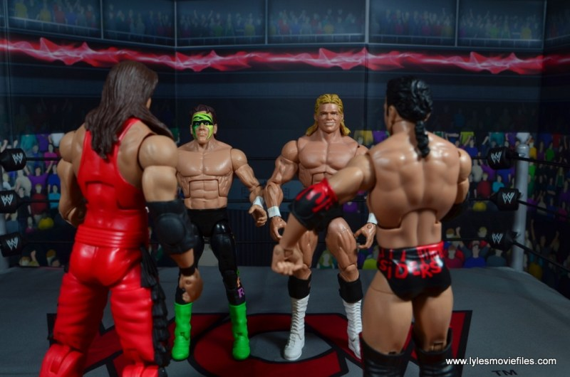 wwe elite bash at the beach sting figure review - face off with the outsiders