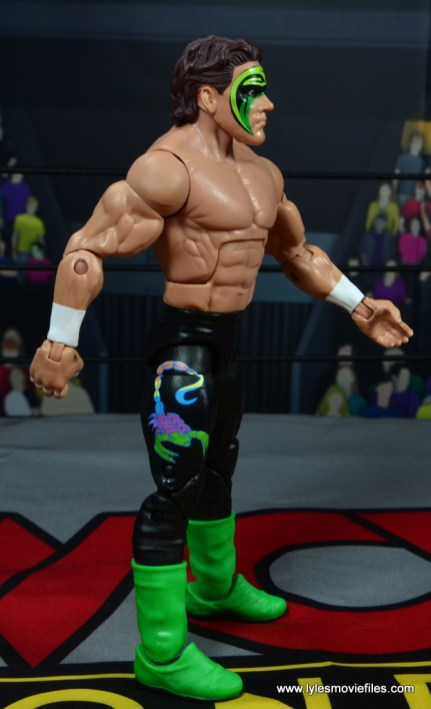 wwe elite bash at the beach sting figure review - right side
