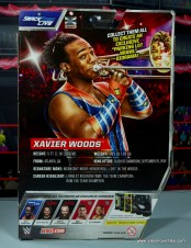 wwe elite xavier woods figure review -package rear