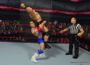 wwe entrance greats kurt angle figure review - belly to back suplex to stone cold 2