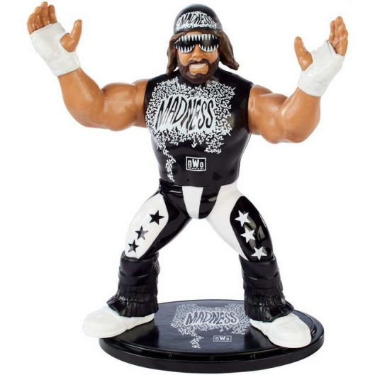 wwe retro app macho man nwo figure closeup